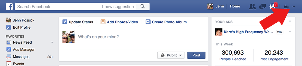 How To Share From Your Facebook Business Page to Your Personal Page