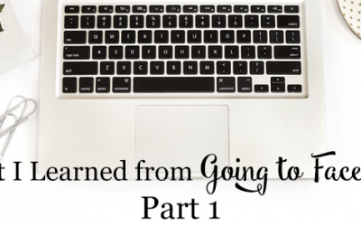 What I Learned From Going to Facebook – Part 1