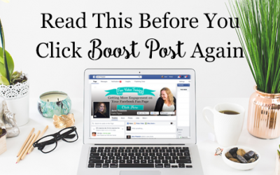 Read This Before You Click 'Boost Post' Again