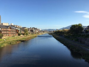 A taste of the view from our morning walk to class from our apartment in Kyoto